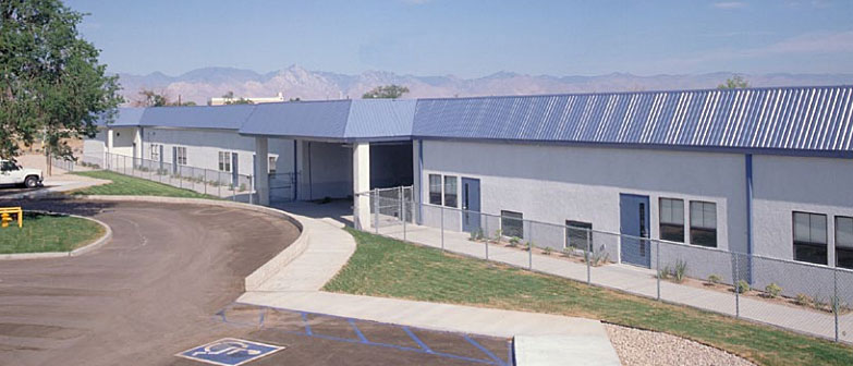 permanent modular building US Navy - China Lake NAS Ridgecrest, CA