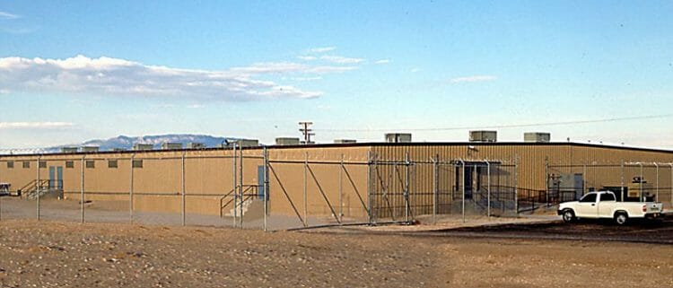 relocatable modular building BERNALILLO COUNTY – DETENTION FACILITY