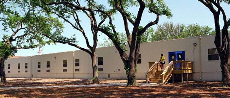 relocatable modular building DILLARD UNIVERSITY – TEMPORARY DORMITORY