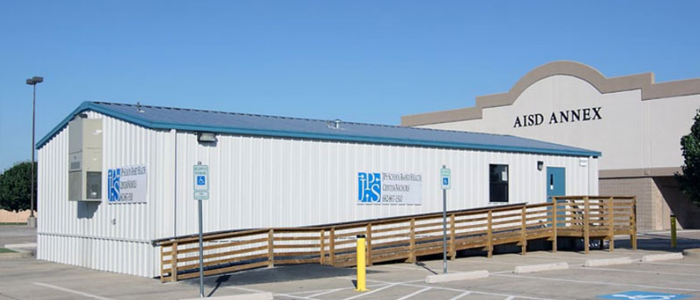 relocatable modular building JPS Health System