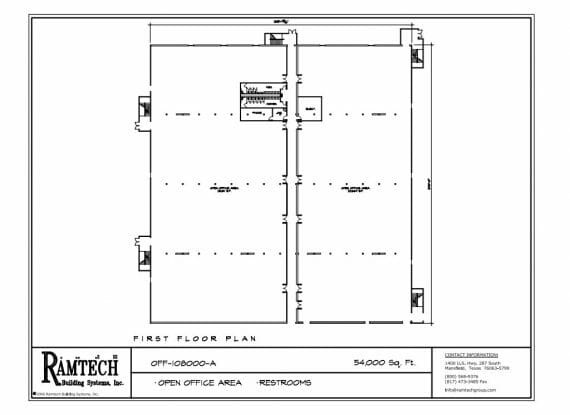 business office restroom floor plan