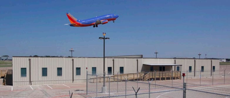 relocatable modular building Southwest Airlines