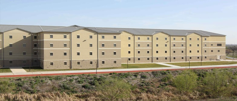 permanent modular building US Army Corps of Engineers Multi-Story Dormitory