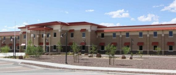 permanent modular building US Army Corps of Engineers Fort Bliss