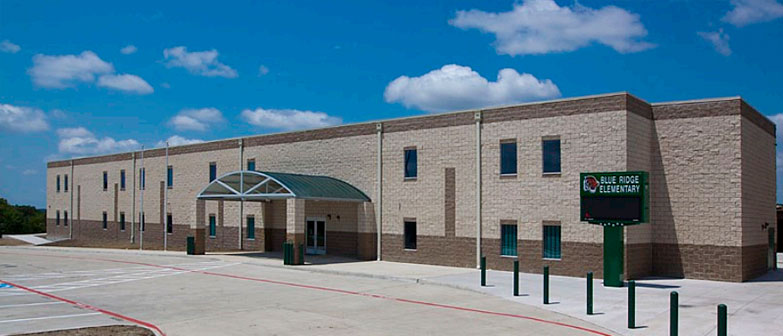 permanent modular building Blue Ridge ISD Middle School