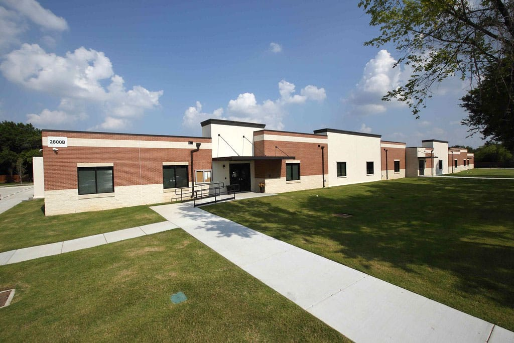 permanent modular building Arlington Classics School Expansion