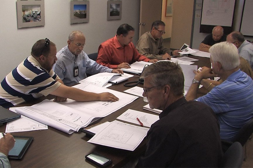 Ramtech design-build planning meeting