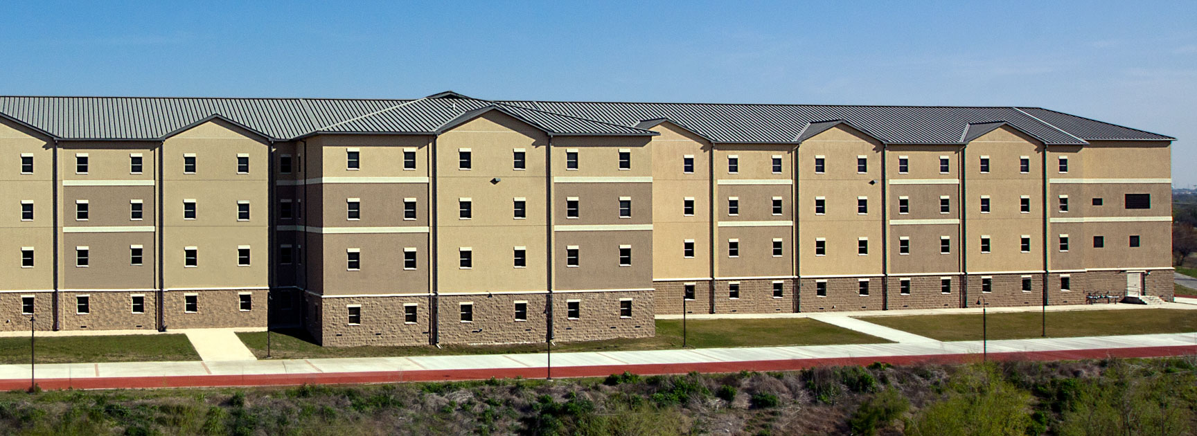 permanent modular building US Army – Multi-Story Dormitory