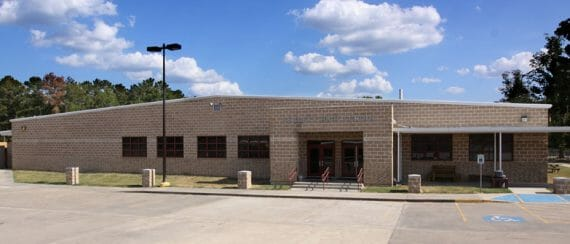 permanent modular construction Leggett ISD, High School