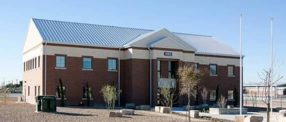 relocatable modular building US Army Fort Bliss