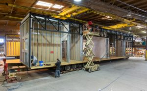 steel-framed permanent modular construction