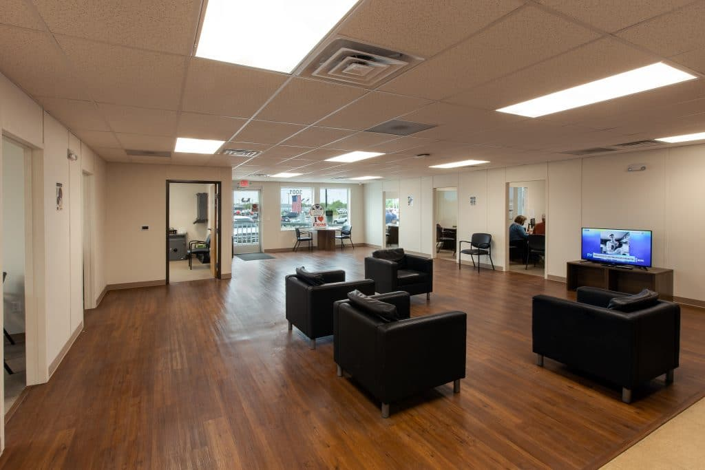 commercial office permanent modular builing